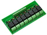 ELECTRONICS-SALON 8 Channel 10Amp SPDT Power Relay Module Board, DC12V Version