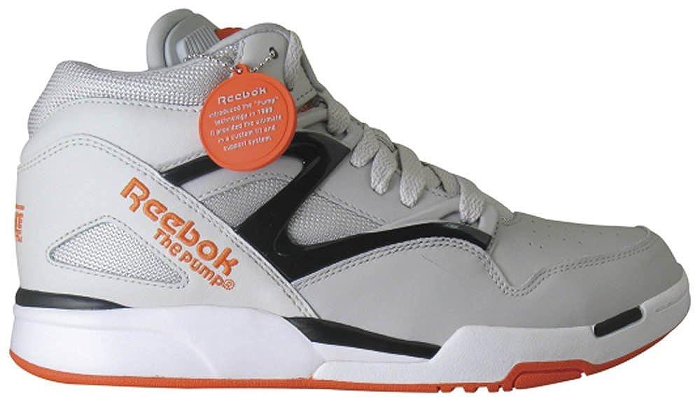 23412b20607 Reebok Pump Omni Lite Basketball Fashion Sneaker Shoe - Steel Black Swag  Orange White - Mens - 9.5  Amazon.ca  Shoes   Handbags