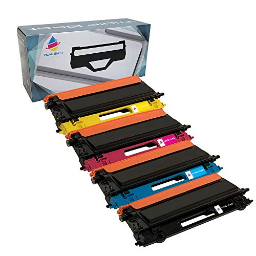 (Triple Best Remanufactured Toner Cartridge Replacement for Brother TN115 TN-115 TN115BK TN115C TN115M TN115Y TN-115BK TN-115C TN-115M TN-115Y (Black; Cyan; Magenta; Yellow) (4 Pack))