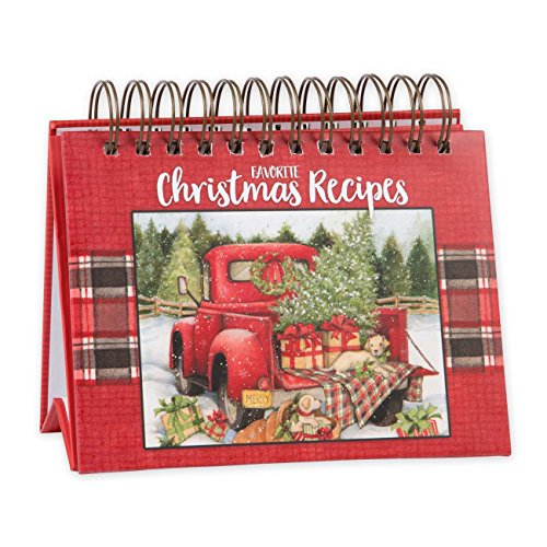 Brownlow Gifts Easel Recipe Book, Christmas, Christmas Easel by Brownlow Gifts