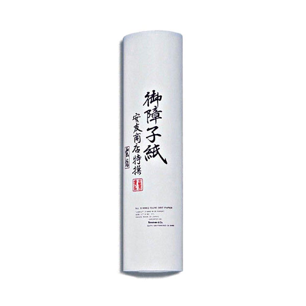 Japanpapier Shojipapier Unryu 28 cm breit 18 Meter Rolle