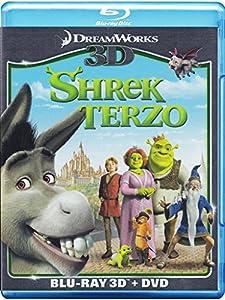 shrek terzo 3d (blu-ray 3d + dvd) registi chris mi [Italia] [Blu-ray]