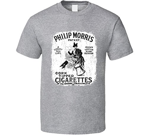 philip-morris-us-cigarette-smoker-fathers-day-worn-look-cool-t-shirt-m-sport-grey