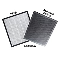 Crusaders XJ-3900-A HEPA+Activated Carbon Filter Set