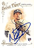 Autograph Warehouse 247068 Nick Castellanos Autographed Baseball Card - Detroit Tigers 2014 Topps Allen Ginters - No. 167 Rookie