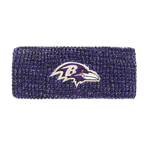NFL Baltimore Ravens Brilyn OTS Headband, Purple, (Baltimore Ravens Band)