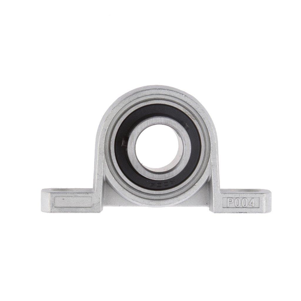 20 mm Di/ámetro KP004 Bola para Soportes de Rodamientos Kit de Soporte