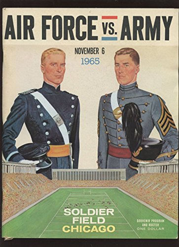 November 6 1965 NCAA Football Program Army vs Air Force EXmt (1965 Ncaa Football)