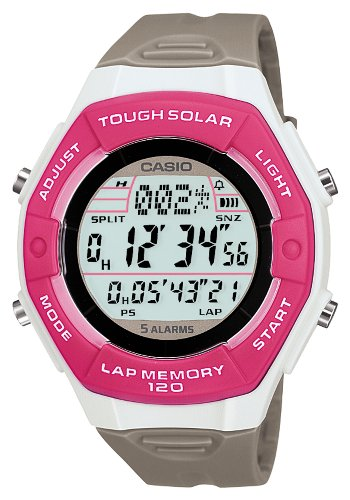 CASIO watch SPORTS GEAR sports gear runners model tough solar lap / split up 120 books time memory LW-S200H-4AJF by Casio