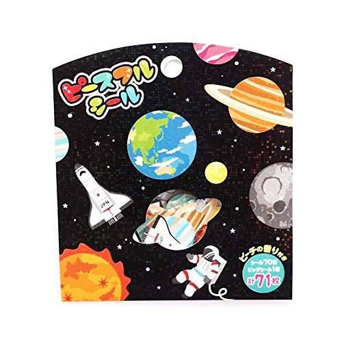Mind Wave Japanese Space Stickers / Pack of 71 [ 78756 ]
