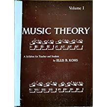 Music Theory: A Syllabus for Teachers and Students
