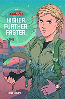 Book Cover: Captain Marvel: Higher, Further, Faster