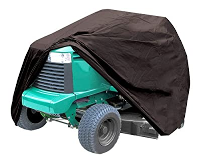 Pyle PCVDT45 Armor Shield Lawn Tractor Mower Protective Storage Cover, Indoor/Outdoor, Universal Size