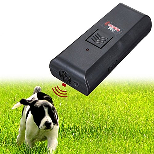 Pet Dog Ultrasonic Aggressive Dog Repeller Train Stop Barking Training by Angelwing