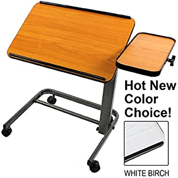 Platinum Health Acrobat Professional Overbed or Laptop Table with Tilting and Height Adjustable Casters