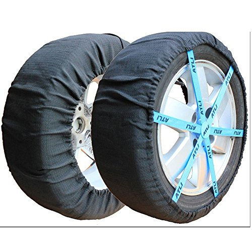 afety Ice Mud Tires Winter car tire Anti Skid Cover Car Snow Chains (AT-FB73) ()