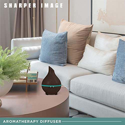 Sharper Image Essential Oil Aromatherapy Large Mist Diffuser 400ml
