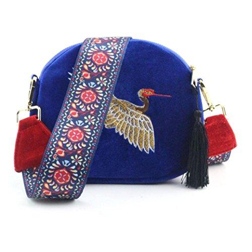 Women Fashion Shoulder Bag Crossbody Handbag(blue) - 1