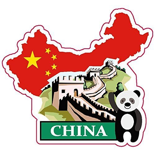 China National Flag And Map Sticker For Customization Of Favorite Items Such As Suitcases