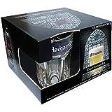 Hoegaarden Box com 4 Copos para Cerveja Ambev Transparente 25cl