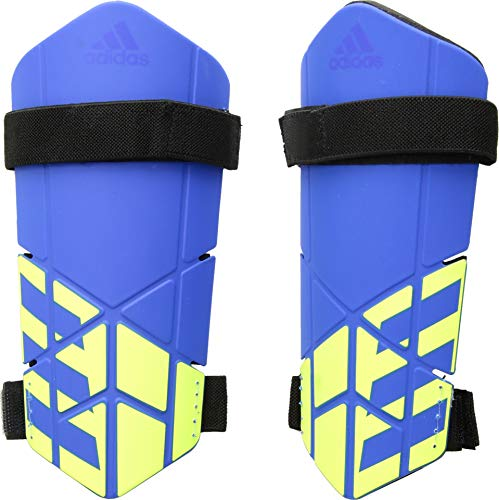 - adidas X Lite Shin Guards, Football Blue/Black/Solar Yellow, Large