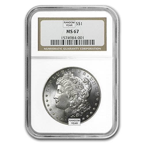 1878-1904 Morgan Dollars MS-67 NGC $1 MS-67 NGC