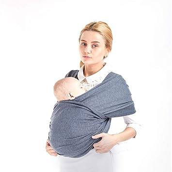 Envoltura para Bebés, Portabebés Portátil Recién Nacido Funda de ...