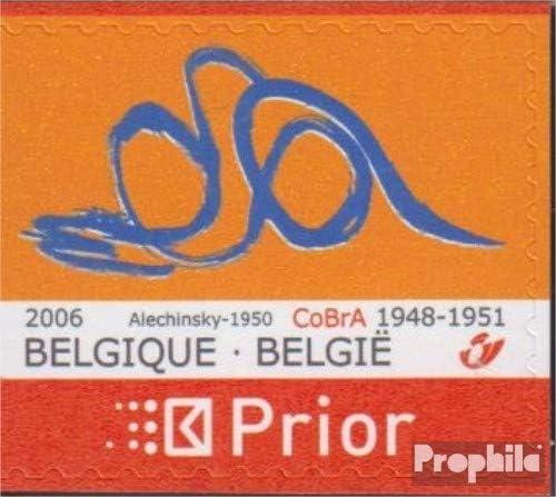 Prophila Collection Belgien 3615Dl Malerei Briefmarken f/ür Sammler kompl.Ausg. 2006 Gem/älde der K/ünstlergruppe