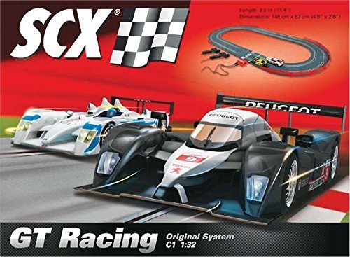(SCX GT Racing 1:32 Scale Slot Car Race Track Set by SCX Slot Cars)