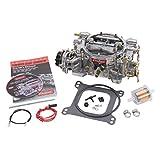 edelbrock carburetor cover - Edelbrock 1406 Performer 600 CFM Square Bore 4-Barrel Air Valve Secondary Electric Choke Carburetor