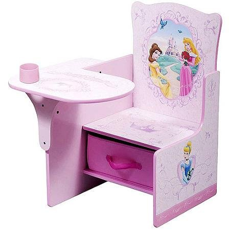 Disney Princess Desk & Chair with Storage Bin by Disney