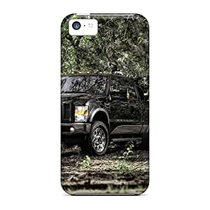 Defender Case With Nice Appearance (2009 Cabelas Superduty Truck) For Iphone 5c