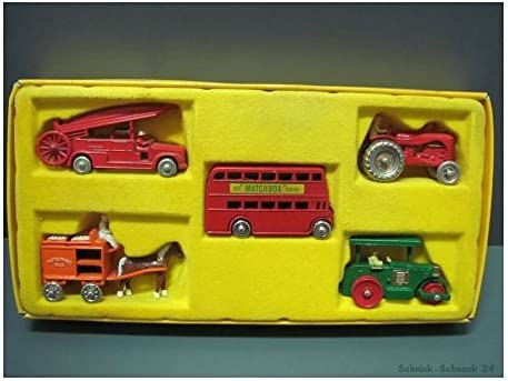 Matchbox Series 40th Anniversary Collection Commemorative Pack by Matchbox: Amazon.es: Juguetes y juegos