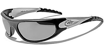 X-Loop Sonnenbrillen - Sport - Radfahren - Skifahren - Squash - Motorradfahrer/Mod. 2610 Rot Grau ZOCMVJwB