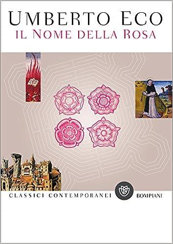 Risultati immagini per il nome della rosa libro