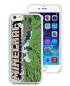 Unique And Fashionable Designed Cover Case For iPhone 6 4.7 Inch TPU With Minecraft Game White 075 Phone Case
