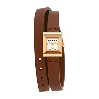 a787feac9a2 Image Unavailable. Image not available for. Color  Gucci G-Frame Mother of Pearl  Dial Ladies Watch YA128521
