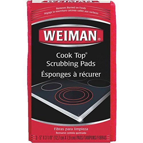 Weiman Wieman CookTop Scrubbing Pad - 2 pack (Cooktop Stain Remover compare prices)