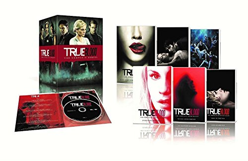 True Blood The Complete Series Seasons 1,2,3,4,5,6,7 DVDS Disc Box Set NEW - Seasons Town Four Center Stores