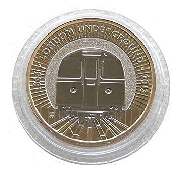 2 Pfund Münze 2013 150 Jubiläum Der Londoner U Bahn Mit