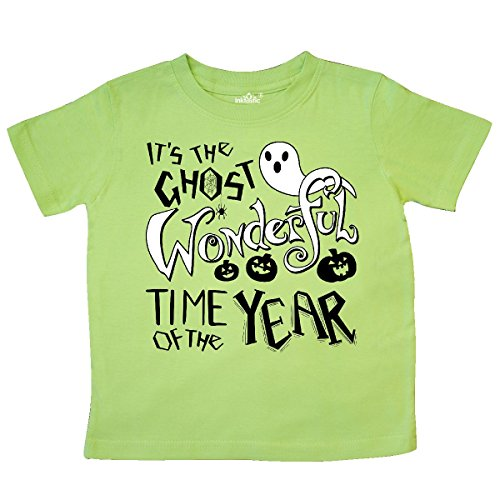 Inktastic - It's the Ghost Wonderful Time of the Toddler T-Shirt 3T Key (Halloween Pumpkin Songs For Preschoolers)