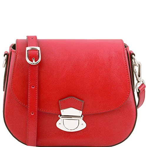 81415174 - TUSCANY LEATHER: TL NEOCLASSIC - Sac bandoulière en cuir, rouge
