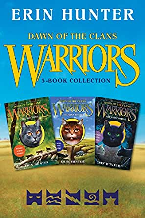warriors dawn of the clans 3book collection the sun