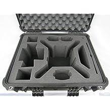 Pelican Case 1550 with Custom Foam Insert for DJI Phantom 3 or 4 Drone by Cobra