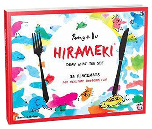 Hirameki: 36 Placemats: Draw What You See por Peng & Hu