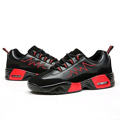 Mocassini Red Uomo Black shoes Shufang P8Szvz