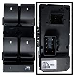 APDTY 100000 Power Window Switch Master 5-Button Front Left w/Window Lock Button For 2009-2012 Buick Enclave / 2008-2011 Chevy HHR / 2007-2012 Silverado Pickup 4-Door / 2009-2012 Chevy Traverse / 2009-2012 GMC Acadia / 2007-2012 GMC Sierra Pickup 4-Door