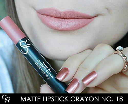 Amazoncom Golden Rose Matte Lipstick Crayon 18 Sante Fe Beauty