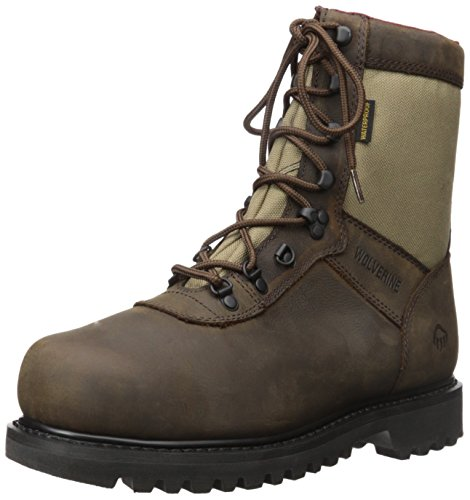 Wolverine Men's Big Horn Boot, Real Brown, 9 M (Brown Gore Tex Durashock Boot)