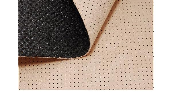 Imitación de piel sintética para coche oculto y perforado T136 01: Amazon.es: Hogar